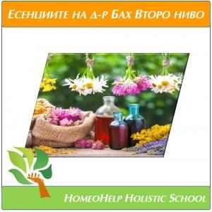 """Онлайн курс """"Лечение с цветните есенции на д-р Бах"""" ВТОРО НИВО с д-р Балтова"""